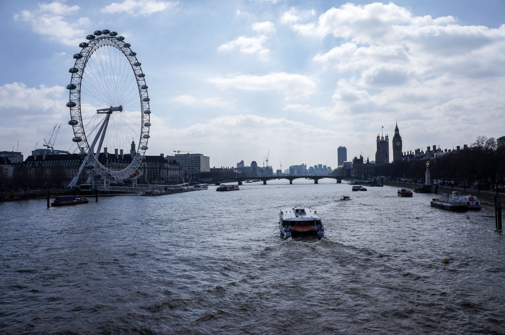 Exploring London - London Eye & Big Ben