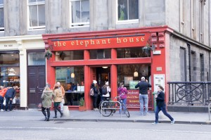Where Harry Potter began/J.K Rowling wrote her first 2 books here