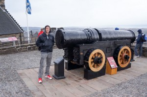Massive cannon! Could only fire once an hour!