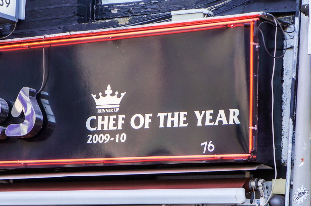 Runner Up Chef of the Year