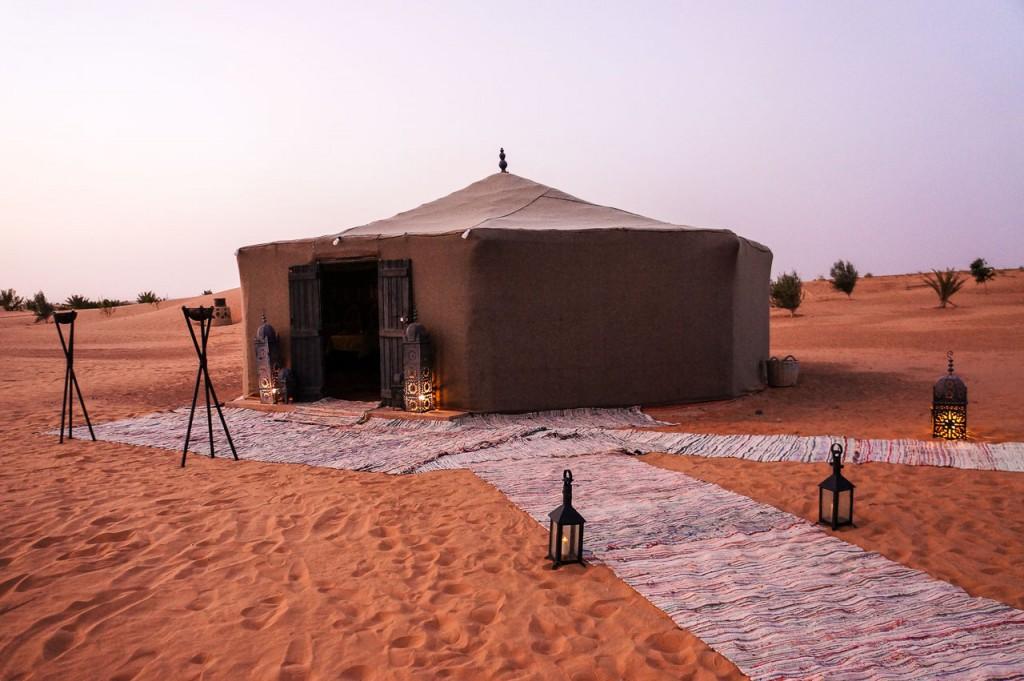 Glamping In the Sahara Desert