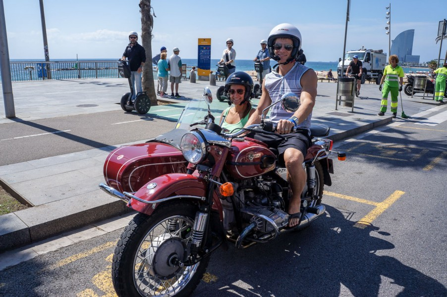 Barcelona Side Car Tours