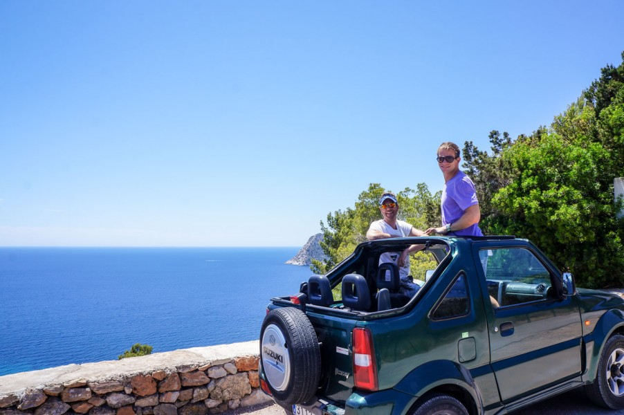 Jeep in Ibiza