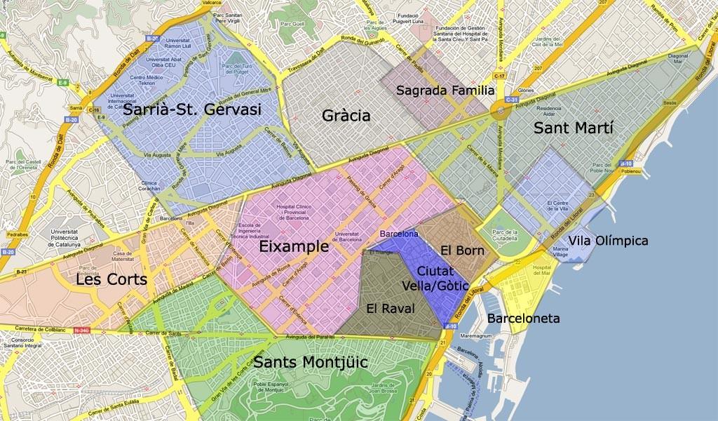 Barcelona neighbourhood guide