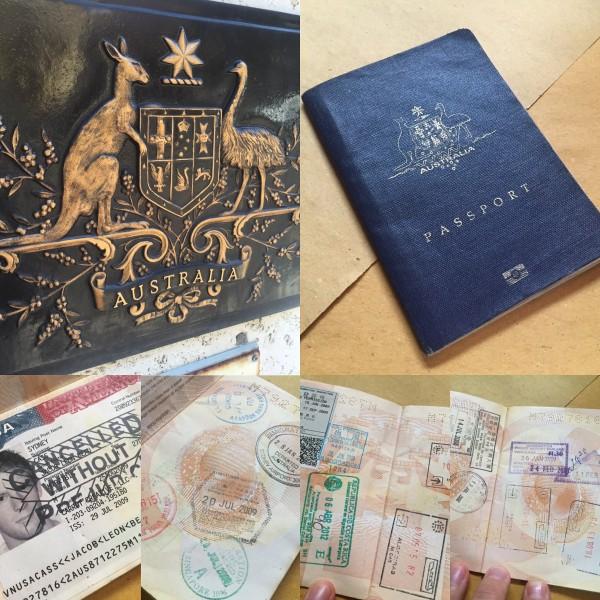 Passport Filled