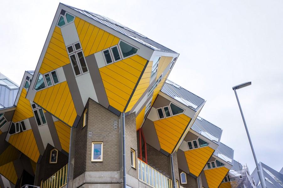 3D Cube Houses