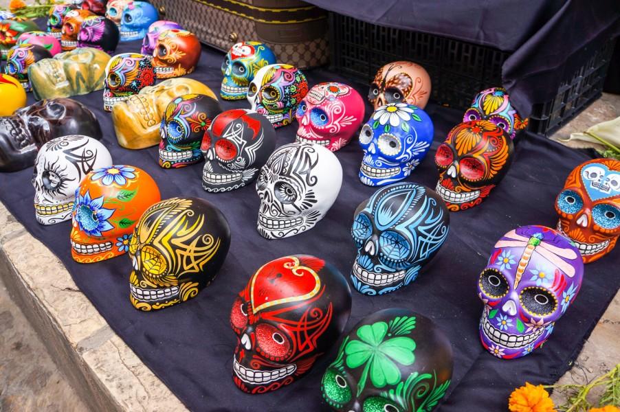 Mexican Skull Ceramics