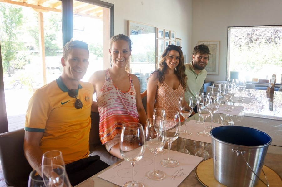 Lagarde Wine Tasting