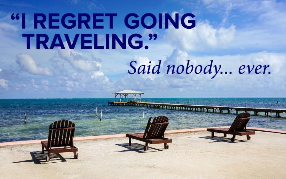 Travel Regret Meme