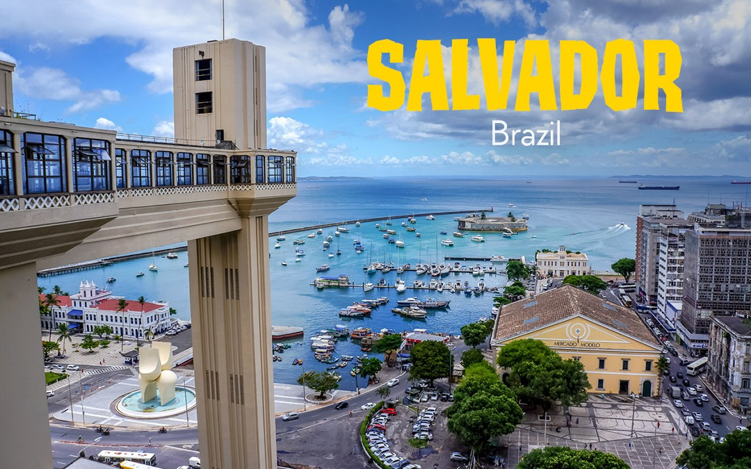 The Colourful Relaxed Life of Salvador, Brazil
