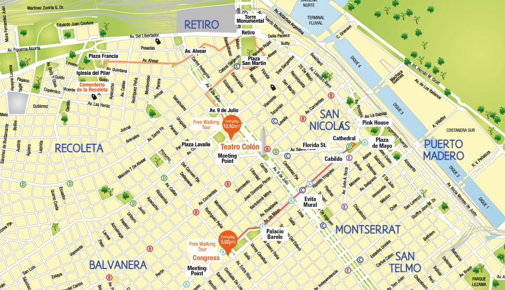 Walking Tours in Buenos Aires