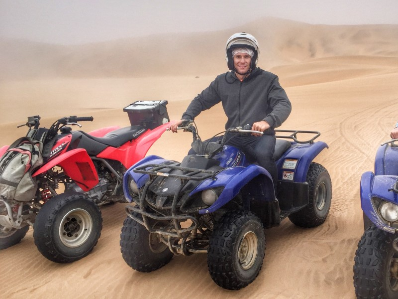 ATV's over the Sand Dunes