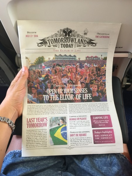 Tomorrowland newspaper