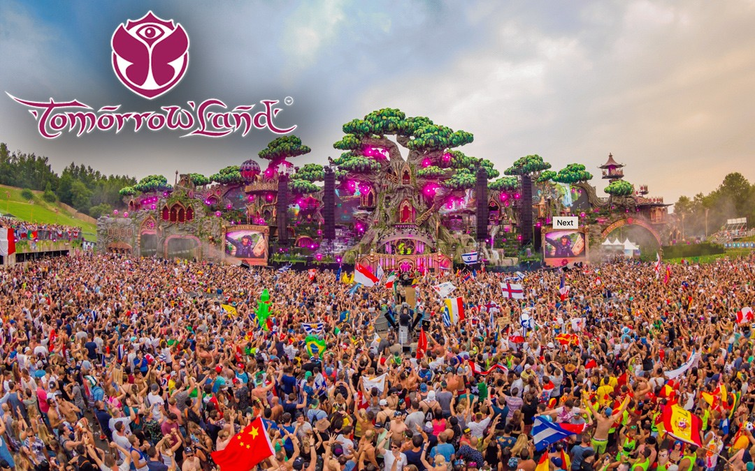 The World's Best EDM Festival: Tomorrowland, Belgium.