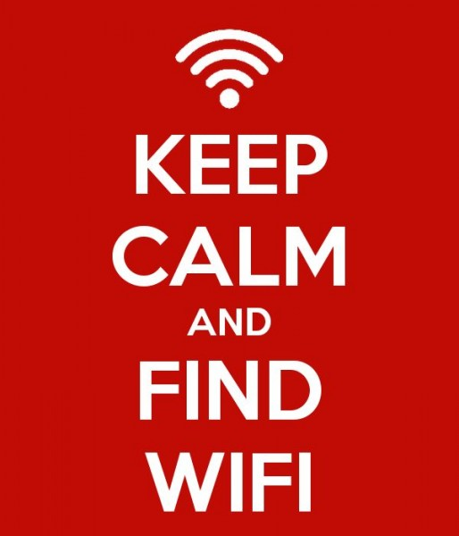 Keep Calm and Find WiFi