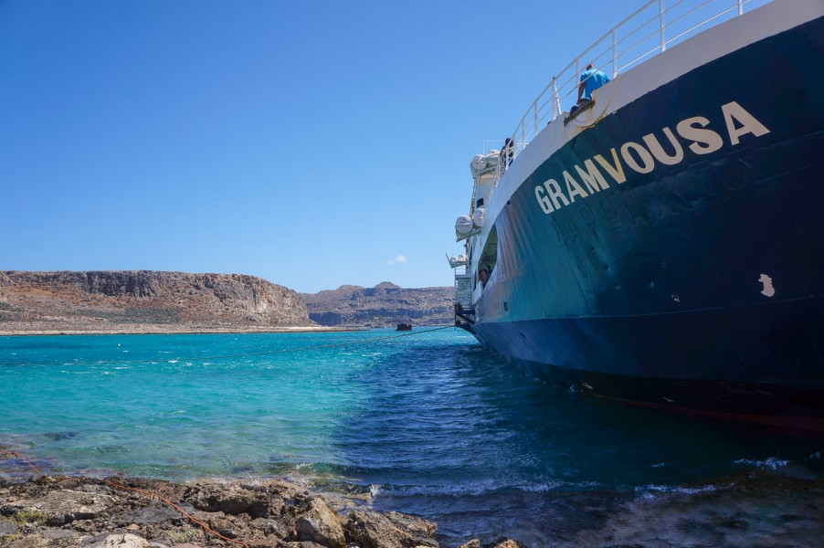 Gramvousa Island Ferry
