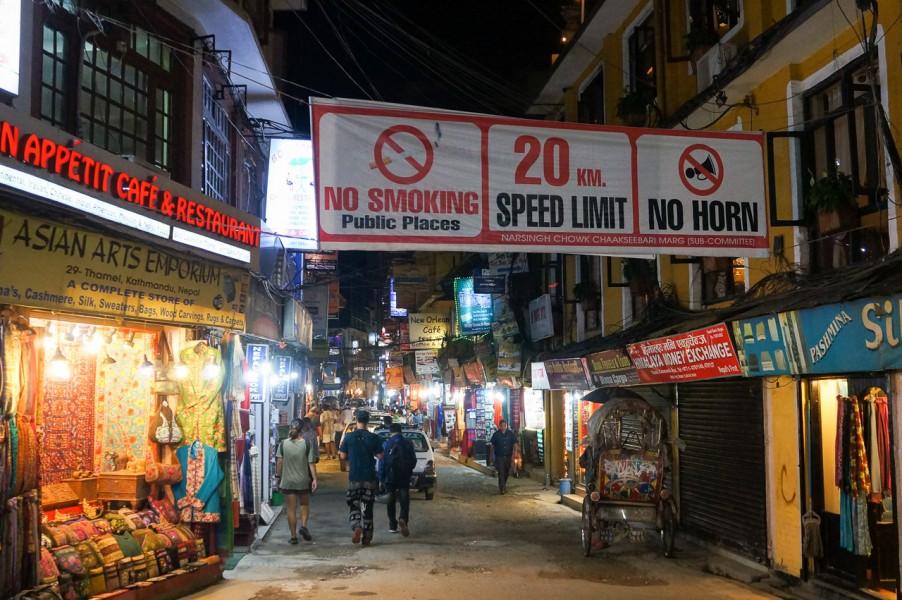 Honking Signs in Kathmandu