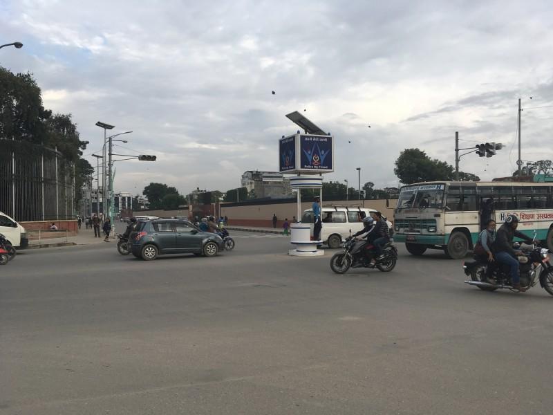 Intersections in Kathmandu