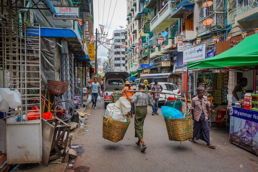 Yangon By Foot