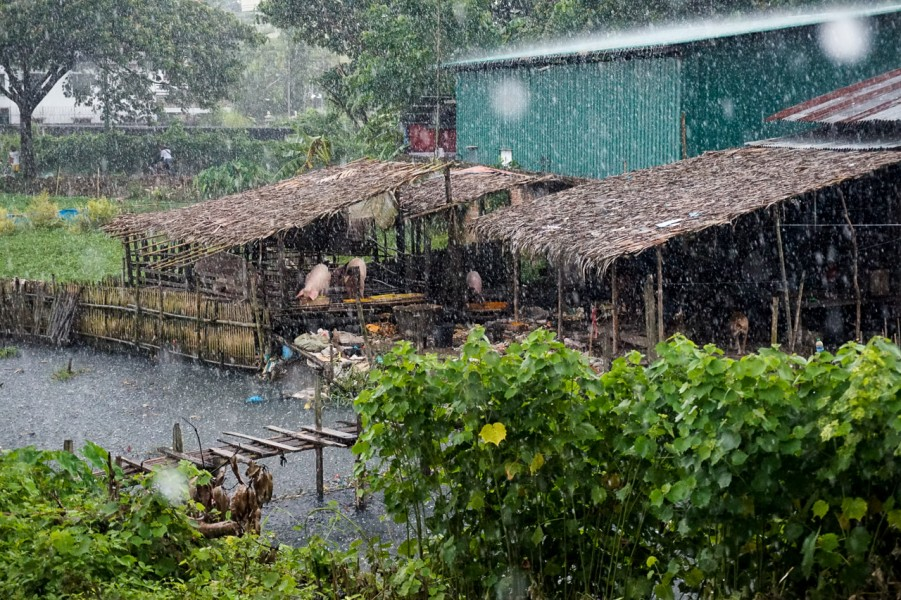 Rain in the Villages
