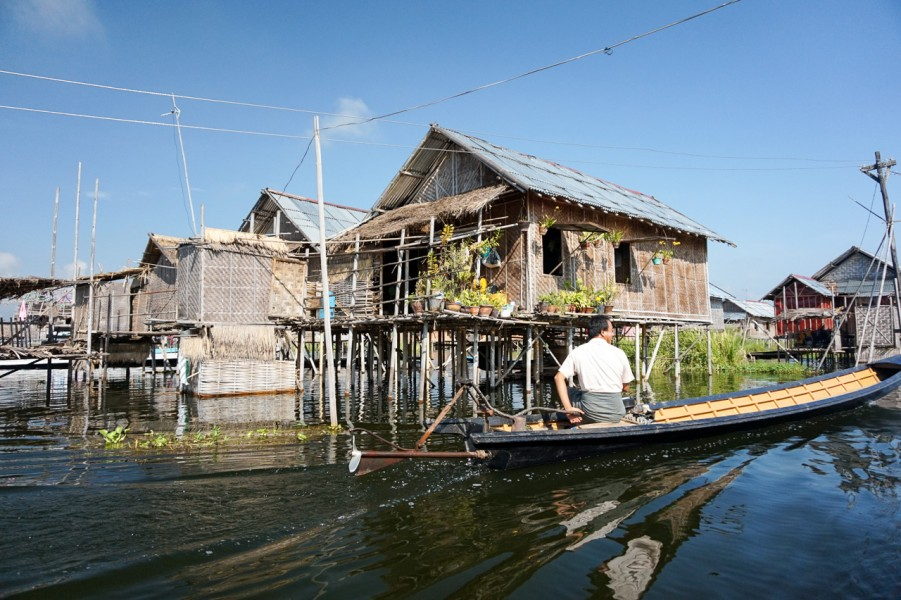The Houses of Inle Lake