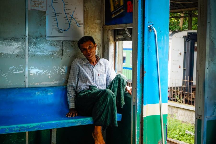 Yangon Circular Train Trip
