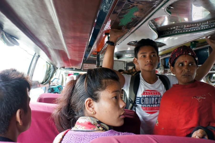 Local Bus to Nayapul