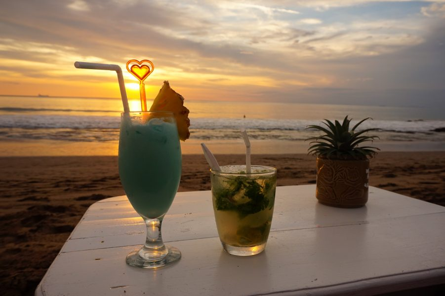 Sunset Koh Lanta Thailand Cocktails