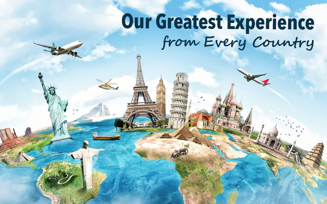 Our #1 Experience from 54+ Countries