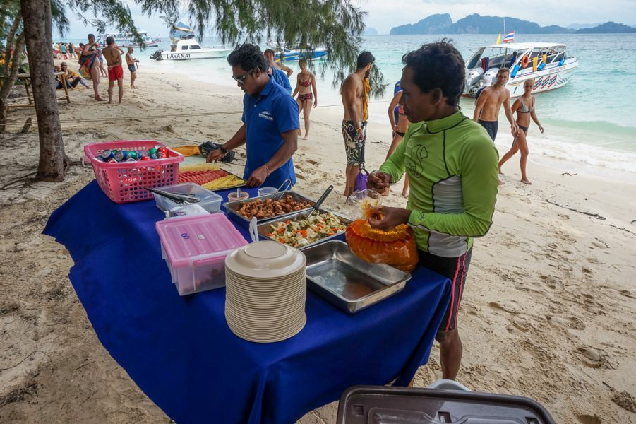 Beach Lunch