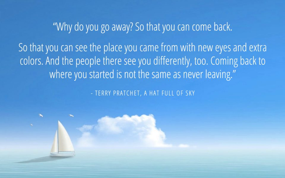 Returning Home Quote