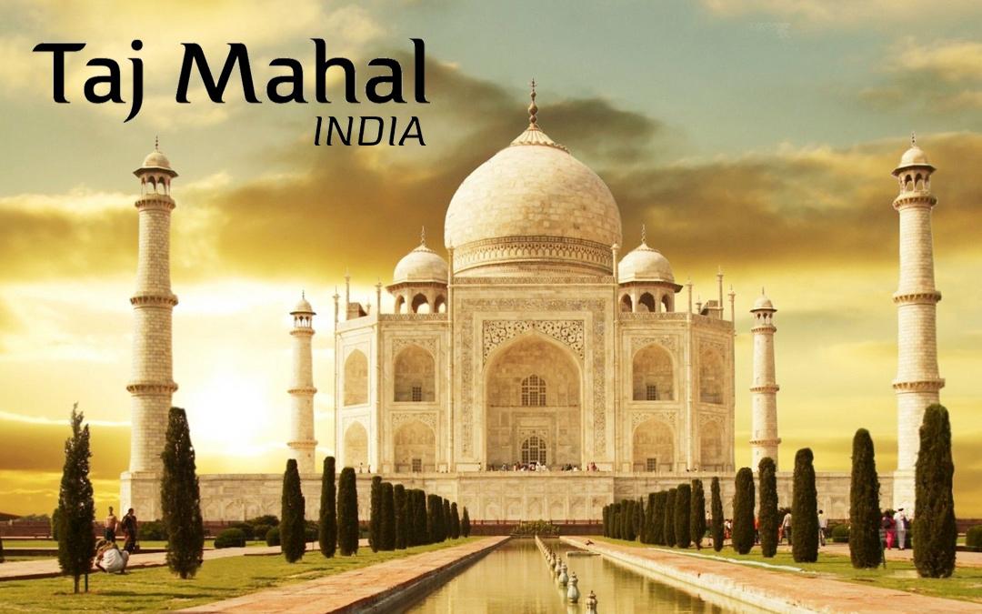 A Trip to the Taj Mahal, India
