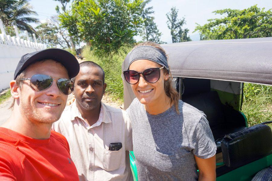 Tuk-Tuk Driver Kandy