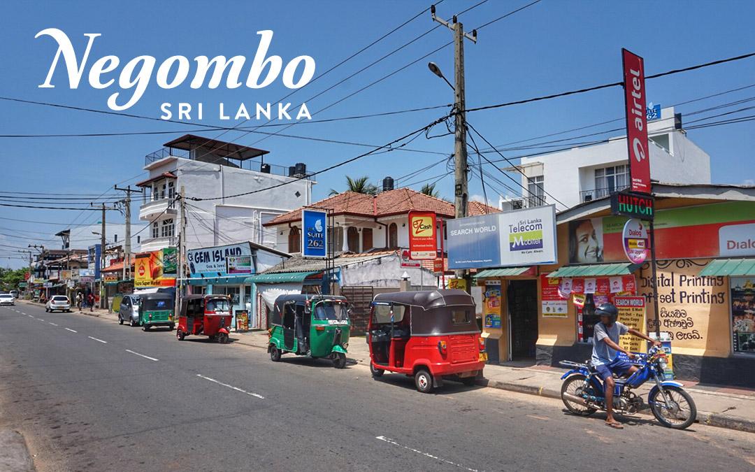 Transit in Negombo, Sri Lanka