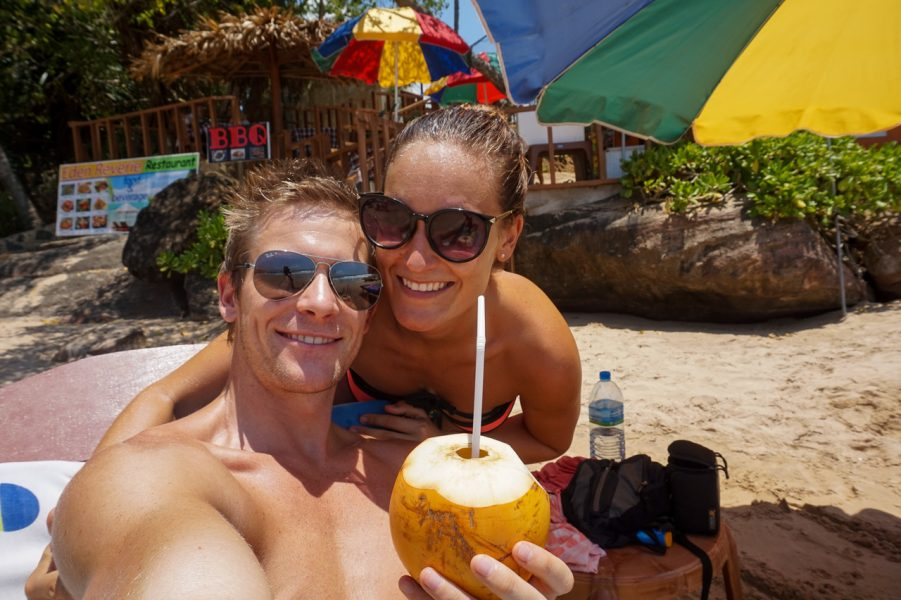 Coconuts on Goyambokka Beach