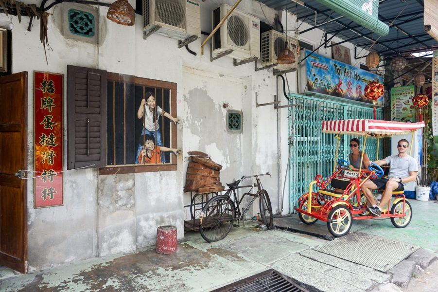 4 Wheel Bike Riding