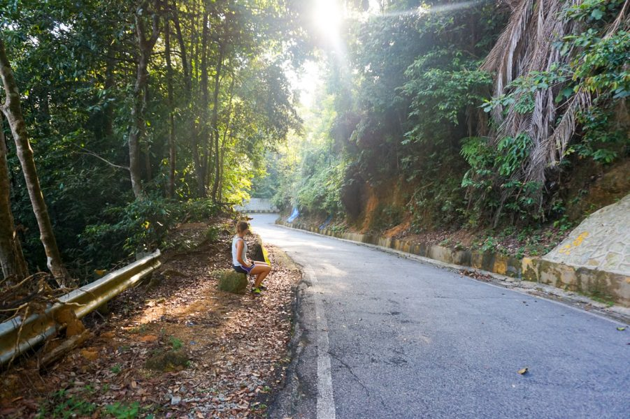 Hiking up Penang Hill