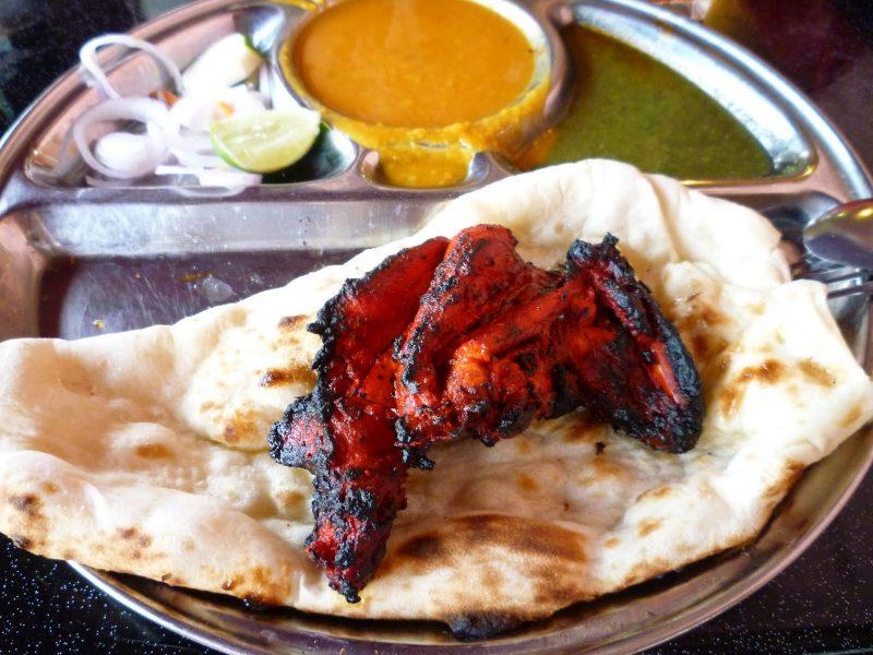Tandoori Chicken + Naan