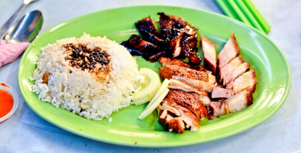 Crispy Duck with Rice