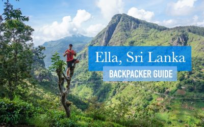 Ella Travel Guide for Backpackers, Sri Lanka