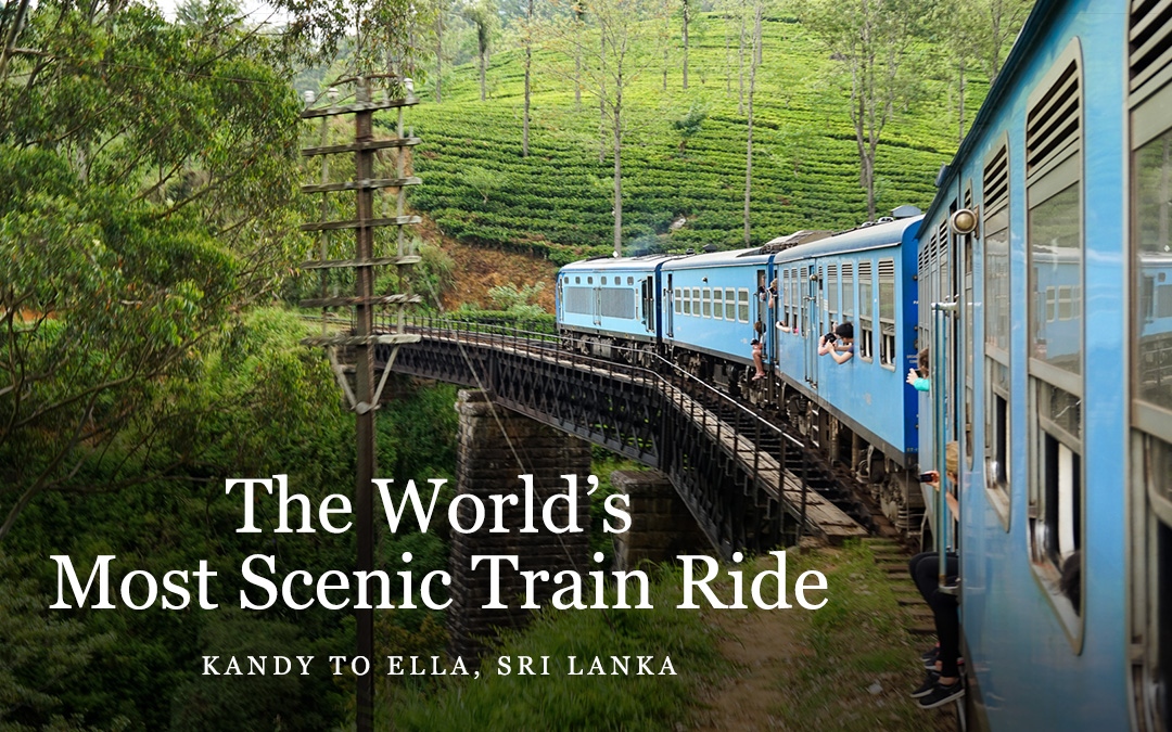 The World's Most Scenic Train Journey: Kandy to Ella, Sri Lanka