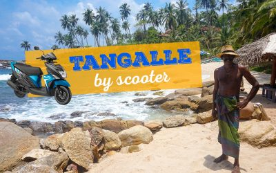Tangalle by Scooter: The Best Beaches & Places to Visit