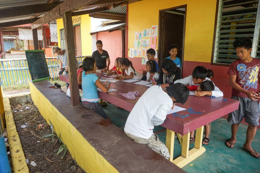 Teaching at Tigman Village