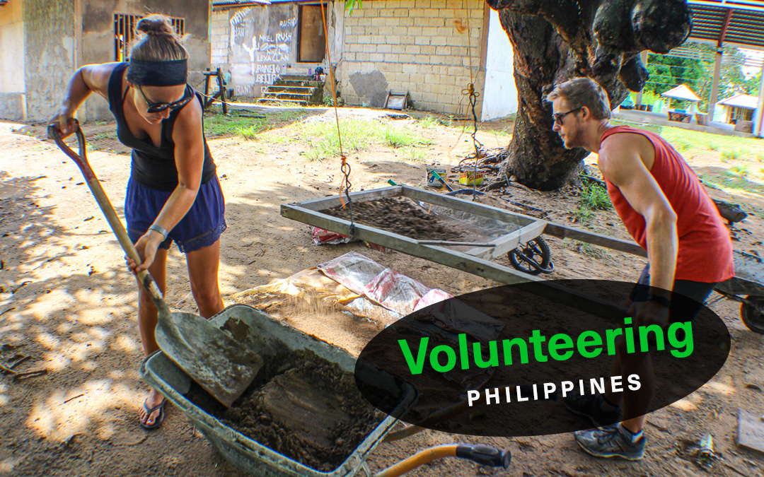 Volunteering with IVHQ in Palawan, Philippines.