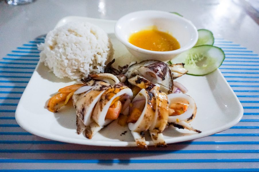 Stuffed Squid - Angel Wish