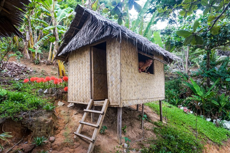 Bamboo Huts Buhay Isla