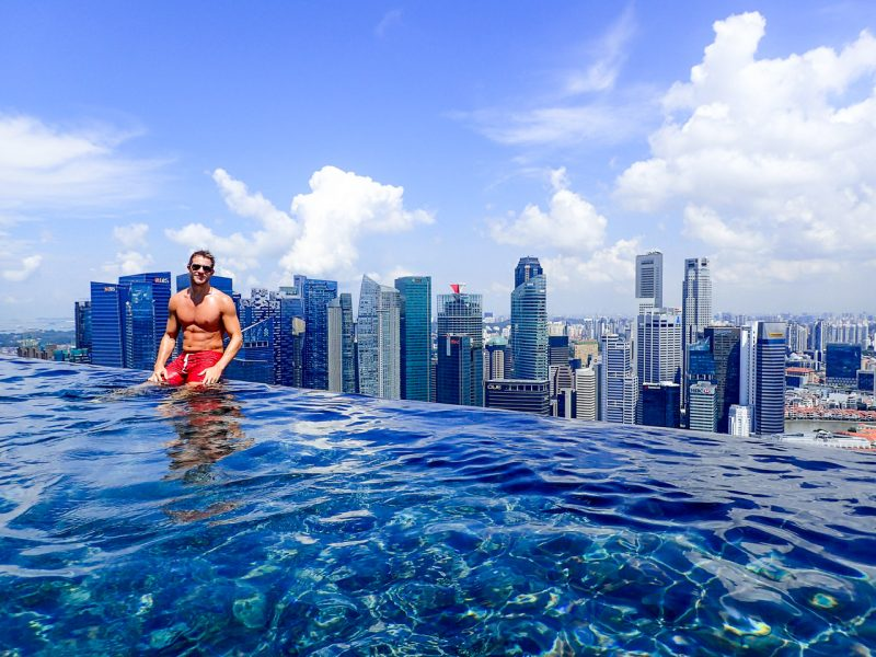 Splurging at Marina Bay Sands The Worlds Largest Infinity Pool