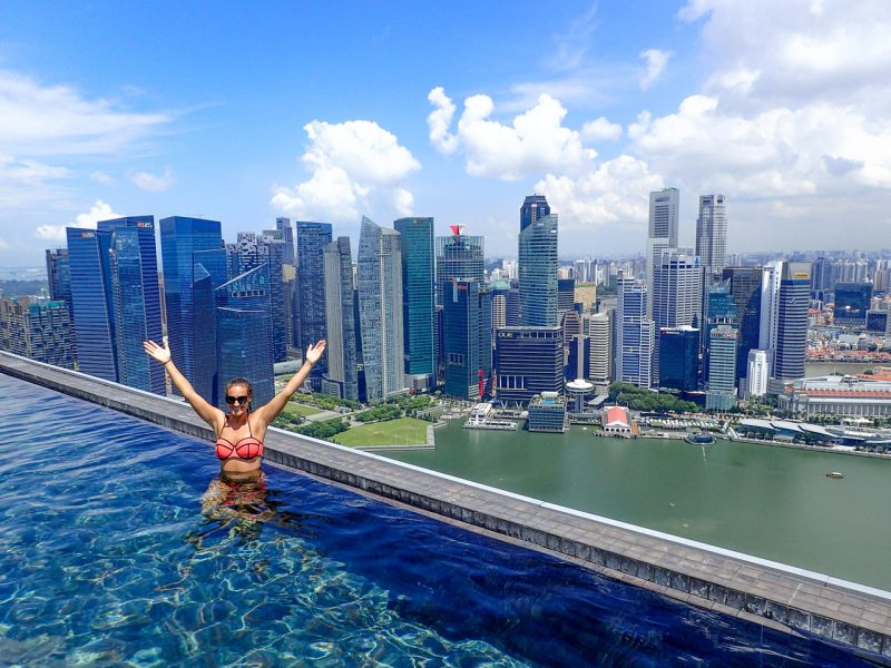 Splurging At Marina Bay Sands The World 39 S Largest Infinity Pool Just Globetrotting
