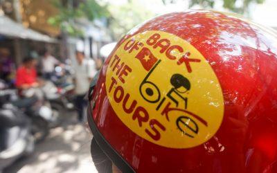 Cruising Ho Chi Minh City, Vietnam by Motorbike