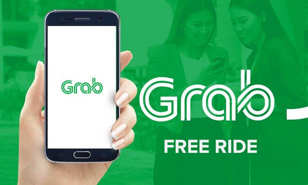 Grab Free Taxi Ride